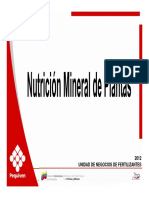 Modulo Nutrición Mineral