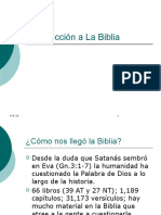 Introduccion a La Biblia 01