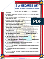 because or because of esl grammar exercise worksheet.pdf