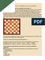 Ajedrez - Notacion Algebraica