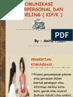 Komunikasi Interpersonel Dan Konseling1