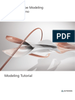 como modelar con shape modeling