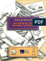 Manual de Instalación (Redes de Agua Potable y Desagüe)