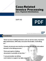 Case Related Invoice Processing
