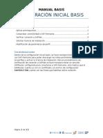 Configuracion Inicial Basis