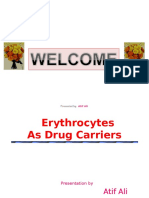3-Erythrocytes as Drug Carriers