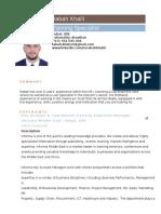 Rabah Khalil Resume