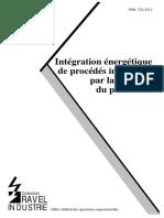 Intégration Énergétique de Procédés Industriels