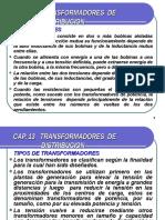 CAP 13 TRANSFORMADORES  DE DISTRIBUCION.ppt