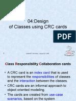 04_DesignofclassesUisngCRCCards