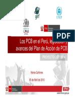 Bifenilos Policlorados PERU