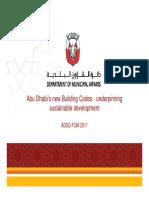 Presentation DMA Building Code ADSG FQM 2011-04-20