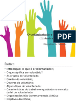 O Voluntariado e as Novas Dinâmicas Sociais Final