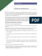 English Performance Evaluation Test 14-10-09