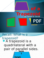 Area of a Trapezoid