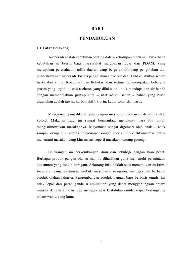 Makalah Pbl Koloid 4 Versi Pdf Pdf