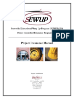 SEWUPProjectInsuranceManual2010-2012