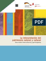 Interpretacioìn Patrimonio Natural y Cultural SERNANP