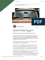 Volkswagen's Dieselgate, half a year later. | Albert Vilariño Alonso | LinkedIn