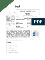 Microsoft Word - Wikipedia, La Enciclopedia Libre