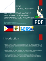 Benthic Habitat Classification and Mapping Using Support Vector 4-3