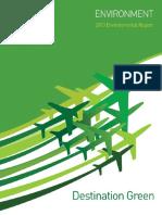 ICAO 2013 Environmental Report