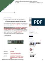 Berbagi Info, Tutorial Dan Aplikasi Gratis_ Mengenali Spesifikasi Memory RAM DDR, DDR2 Dan DDR3