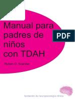 Manual Para Padres TDAH