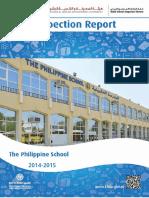 KHDA The Philippine School 2014 2015