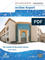KHDA The School of Research Science 2014 2015