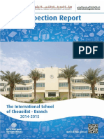 KHDA The International School of Choueifat Branch 2014 2015