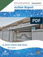 KHDA ST Mary Catholic High School Dubai 2014 2015