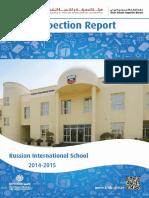 KHDA Russian International School 2014 2015