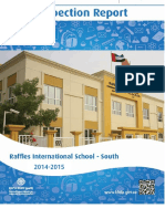 KHDA Raffles International School South 2014 2015