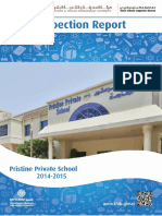 KHDA Pristine Private School 2014 2015