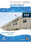 KHDA New Academy School 2014 2015