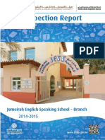 KHDA Jumeirah English Speaking School Br 2014 2015