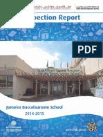 KHDA Jumeira Baccalaureate School 2014 2015