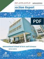 KHDA International School of Arts and Sciences 2014 2015