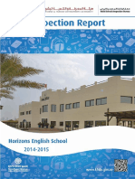 KHDA Horizons English School 2014 2015