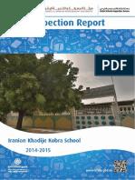 KHDA Iranian Khadije Kobra School 2014 2015