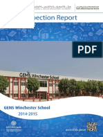 KHDA Gems Winchester School 2014 2015