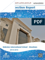 KHDA Emirates International School Meadows 2014 2015