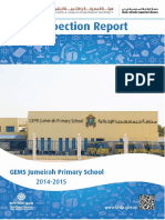 KHDA Gems Jumeirah Primary School 2014 2015