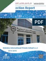 KHDA Emirates International Private School L L C 2014 2015