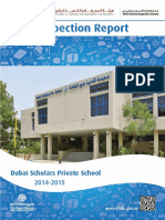 KHDA Dubai Scholars Private School 2014 2015