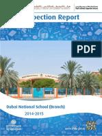 KHDA Dubai National School Branch 2014 2015