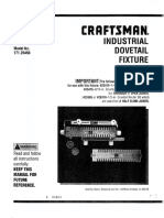 Craftsman Dovetail Jig L0807067