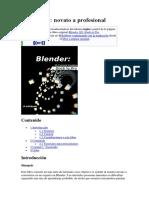 Blender 3D Novato a Profesional