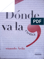 Donde Va La Coma Por Fernando Avila